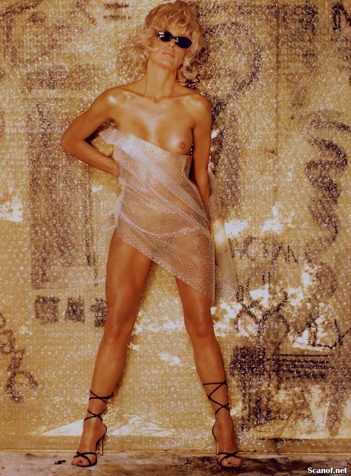 Nude farrah fawcett Celebrities who